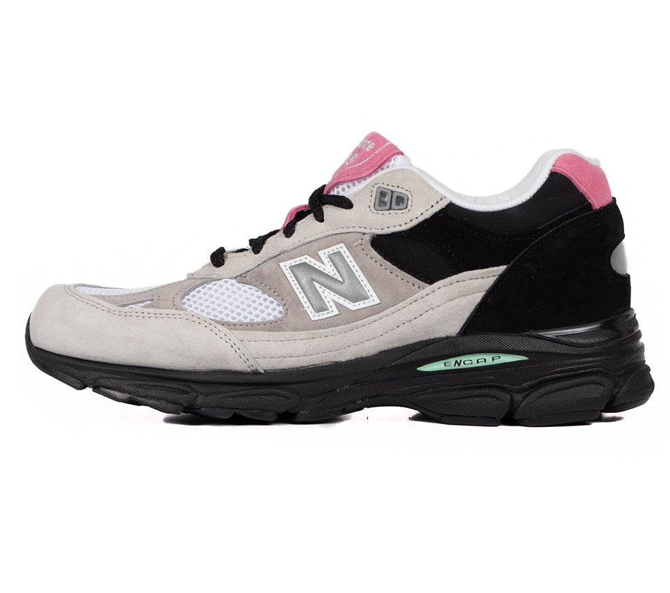 new balance m9919fr - white/black sneaker