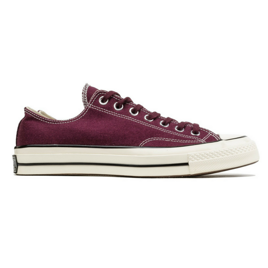 converse chuck taylor 70 low ox dark burgundy