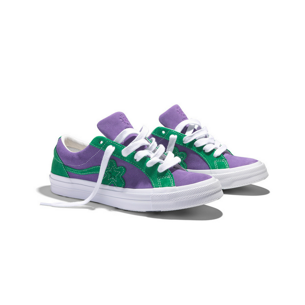 CONVERSE X GOLF LE FLEUR PURPLE HEART - nous