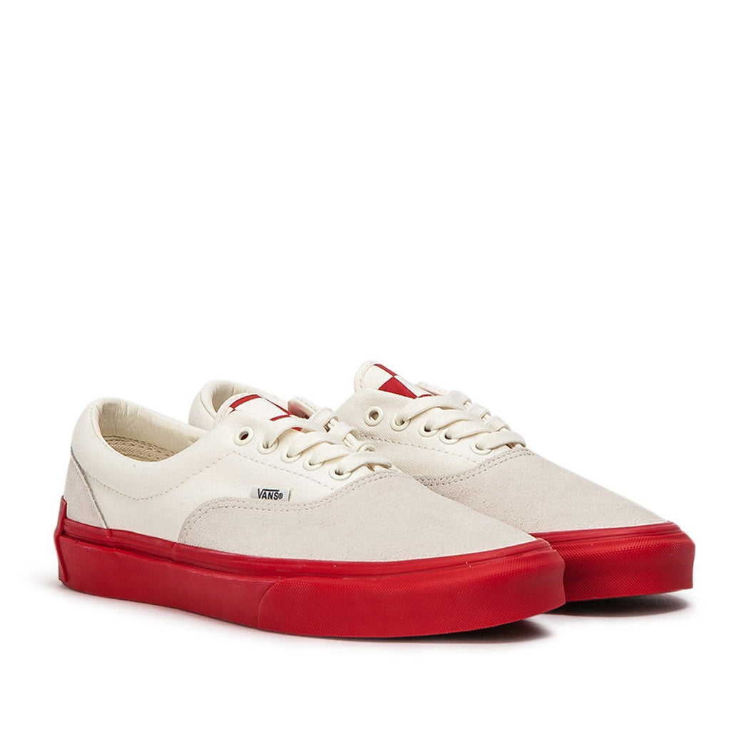"vans x purlicue vault era ""year of the pig"" - white/red sneaker"