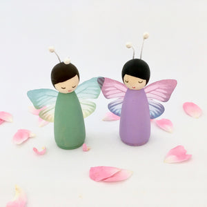 Butterfly Peg Dolls