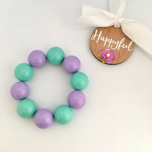 Jasmine Bubblegum Bead Set
