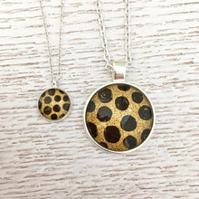 Matching Leopard Spots Necklace Set