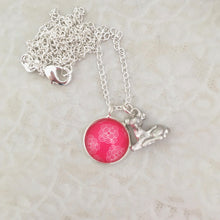 Girls Little Deer Charm Necklace