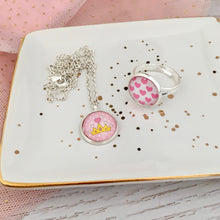 Princess Necklace and Ring Set