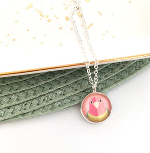 Girls Parrot Necklace