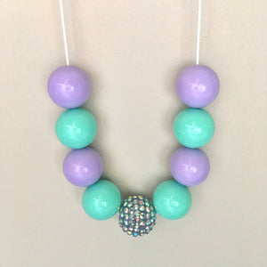 Jasmine Bubblegum Bead Necklace