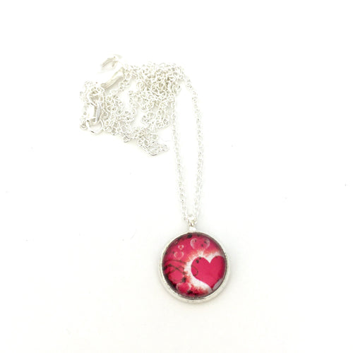Girls Heart Necklace