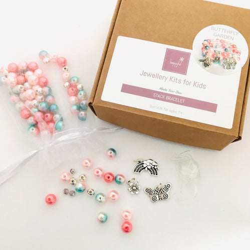 Butterfly Garden DIY Stack Bracelet Kit