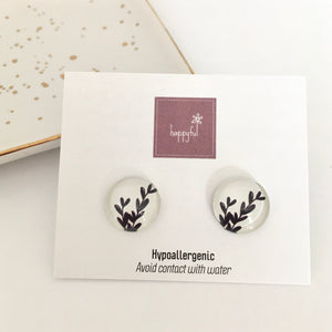 Twig Stud Earrings