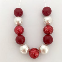 Berry Sparkle Bubblegum Bead Set