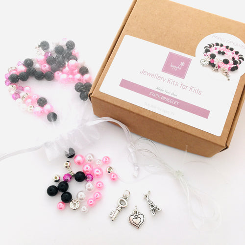 Paris Dreams DIY Stack Bracelet Kit