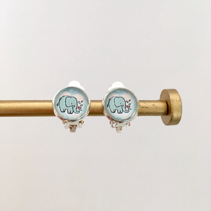 Little Elephant Clip-on Earrings