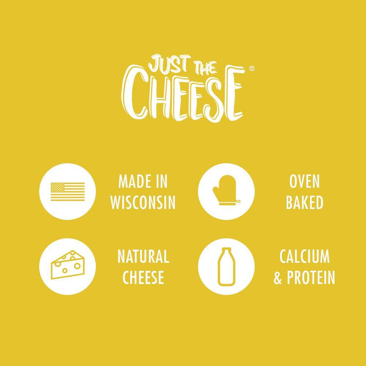 Just The Cheese® - White Cheddar Minis - 1 Master Case (128 0.5oz packs)-Cheese Minis-Just The Cheese