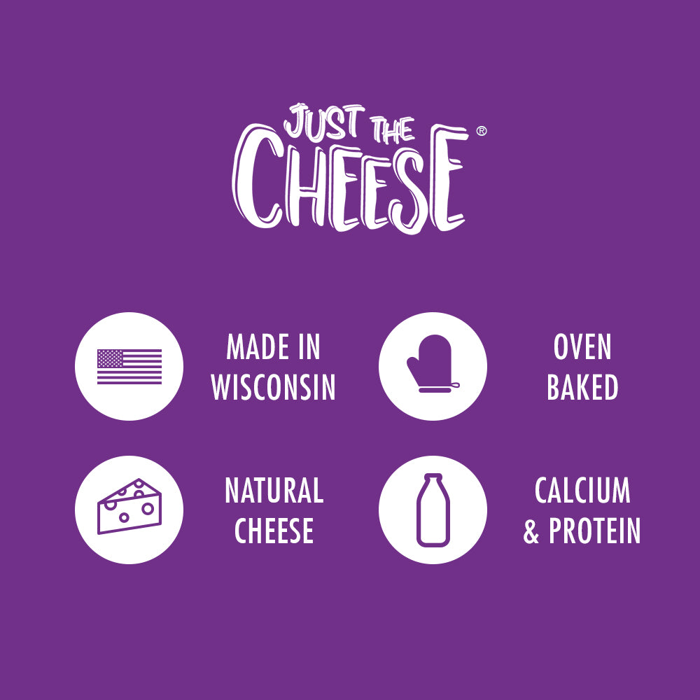 Just The Cheese® - 5 Flavor Sampler - 5 Half-Ounce Mini Packs