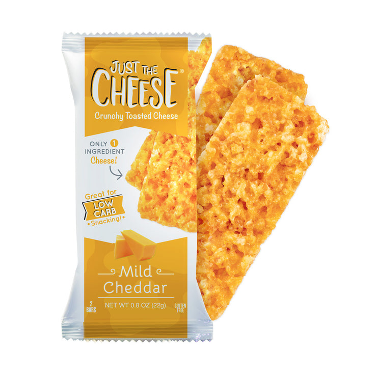 Just The Cheese® - Mild Cheddar Bars - 12 Two-Bar Packs-Cheese Bars-Just The Cheese