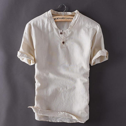 Summer Linen Shirt - Men's Quarter