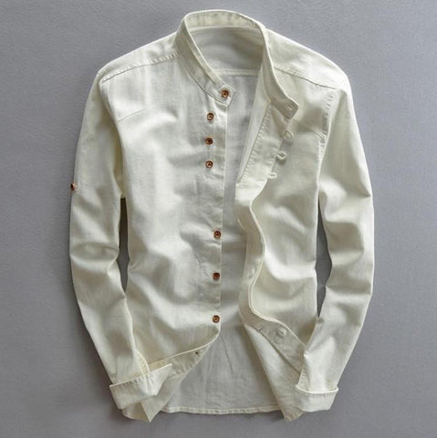 Linen Casual Shirt-Men's Quarter