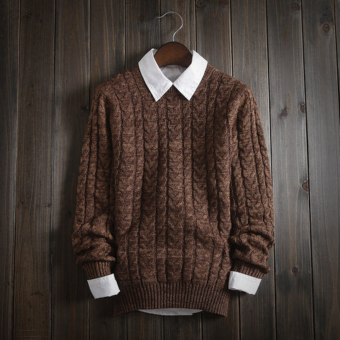 Knitted Pullover - Men's Quarter