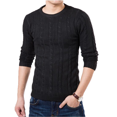 Knitted sweater available 5 Colors - Men's Quarter
