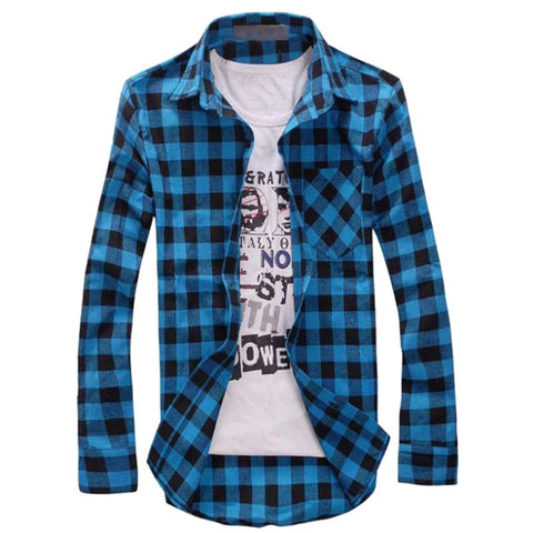Checkered Shirt 7 Colors