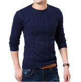 Knitted sweater available 5 Colors-Men's Quarter