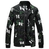 Hip Hop Fashion Bomber-Men's Quarter