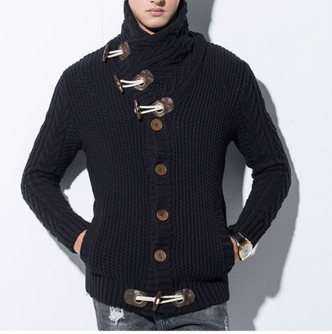 Winter Casual Cardigan available 3 Colors - Men's Quarter