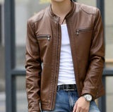 Luxe Leather Jacket - Men's Quarter