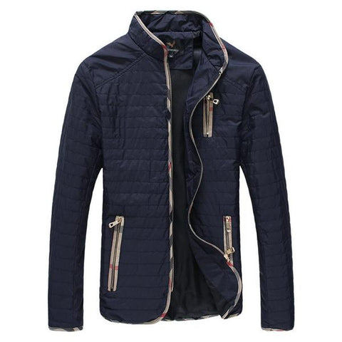 Contemporary Textured Jacket - Men's Quarter