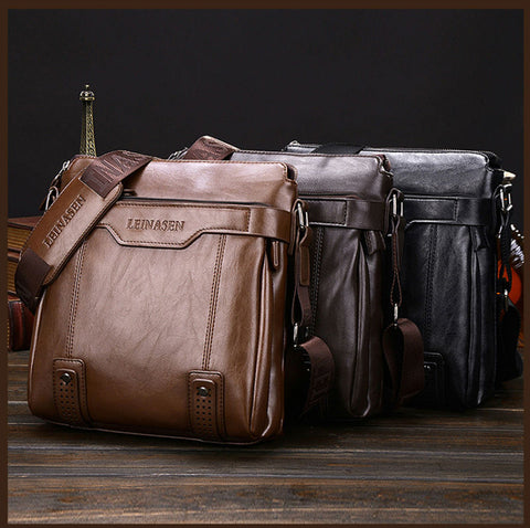 Men's Shoulder Bag - Men's Quarter