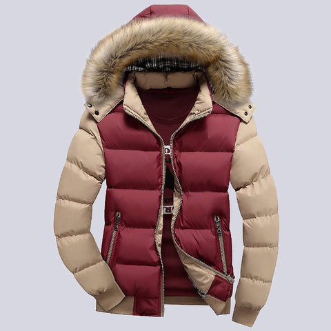 Thick Parka-Men's Quarter