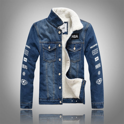Men Denim Jacket-Men's Quarter