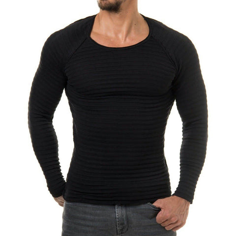 Sweater O-neck Casual - Men's Quarter