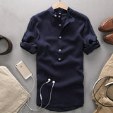 Summer Linen Shirt-Men's Quarter