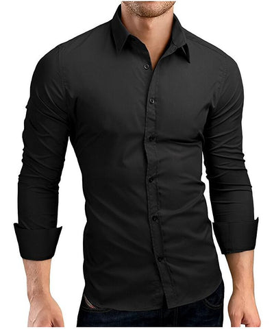 Classic Fitted Dress Shirt - Men's Quarter
