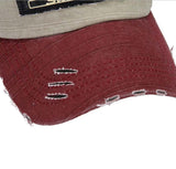 Unisex Baseball Cap Hats available in 6 colors