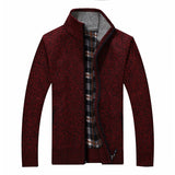 Warm sweater with zipper available 5 colors - Men's Quarter