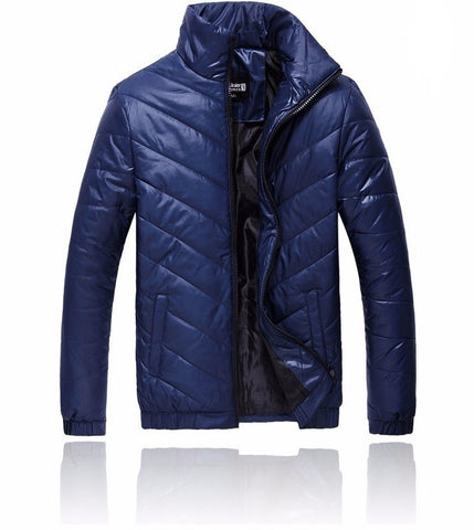 Casual winter jacket available 3 Colors - Men's Quarter