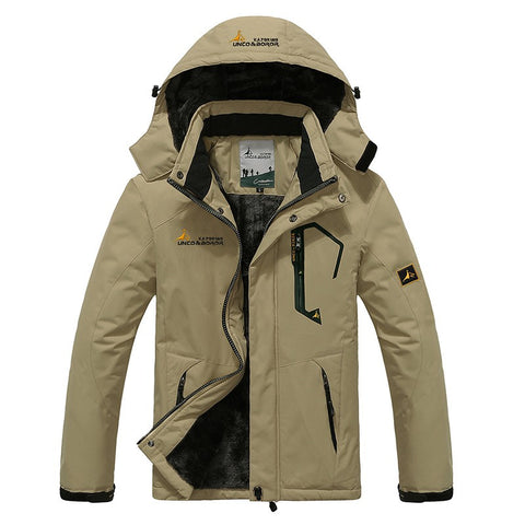 Warm Waterproof Jacket available 5 Colors - Men's Quarter