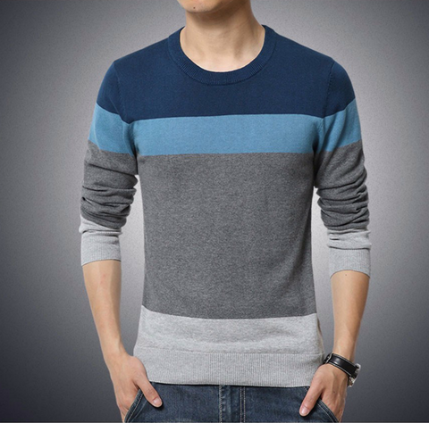 Striped Sweater - Men's Quarter