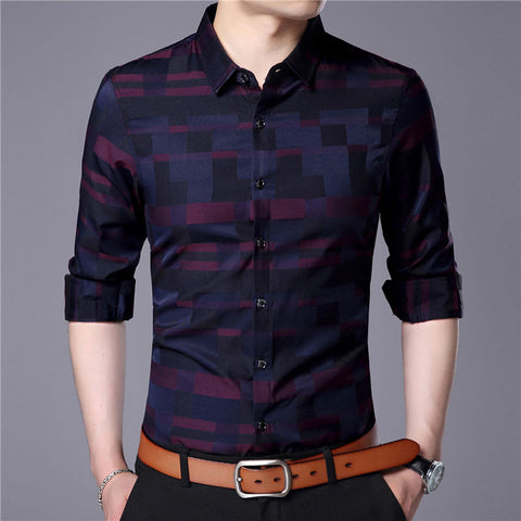 Contemporary checkered shirt-Men's Quarter