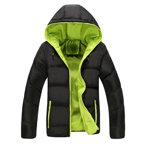 Parka warm available 5 Colors-Men's Quarter