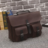 Vintage Pocketed Briefcase - Men's Quarter