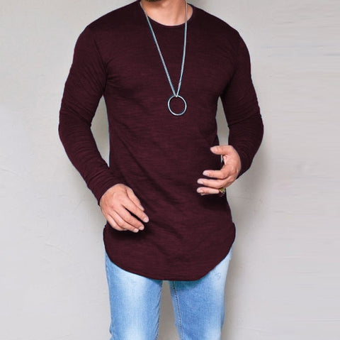 Urban Long Sleeve T-Shirt-Men's Quarter