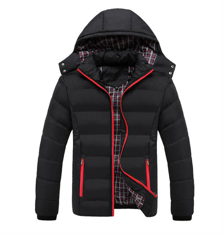 Windproof jacket with hood available 4 Colors