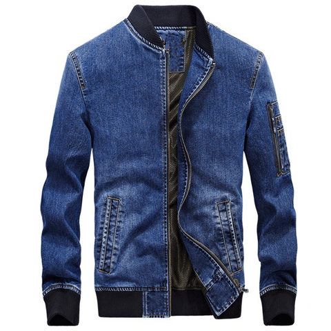 Denim Jacket - Men's Quarter