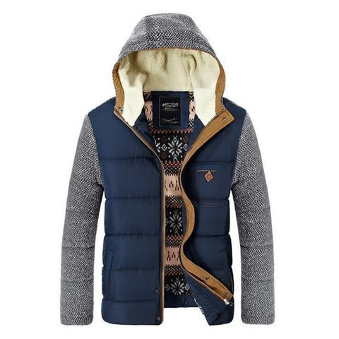 Hooded Parka Jacket - Men's Quarter