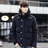 Thick Warm Parka - Men's Quarter