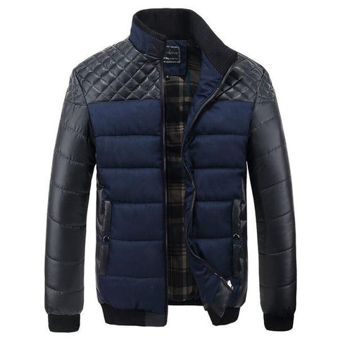 Bomber Jacket Blue available 3 Colors - Men's Quarter